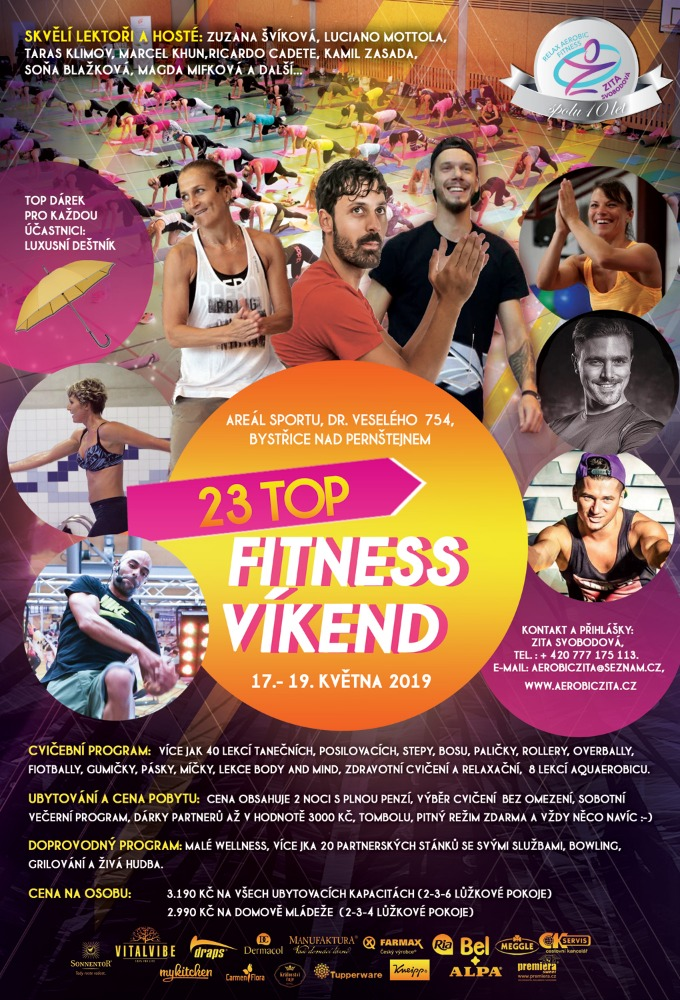 23. TOP FITNESS VÍKEND