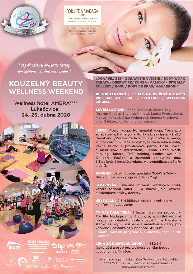 KOUZELNÝ BEAUTY WELLNESS WEEKEND
